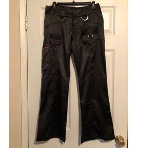 Guess cargo black pants